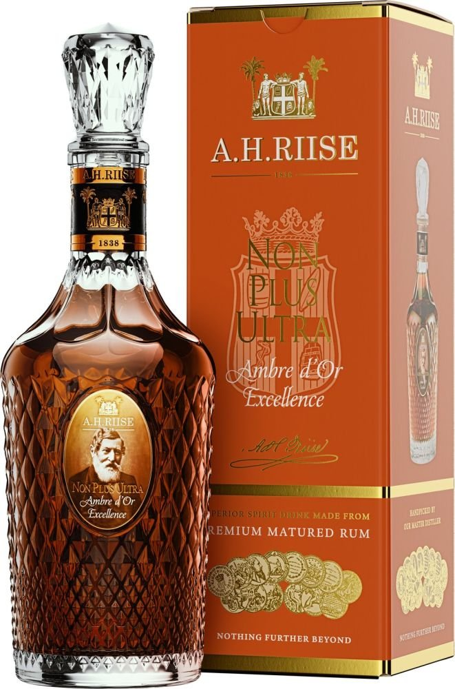 Rum A.H.Riise Non Plus Ultra Amber d'Or Excellence 0,7l 42% GB
