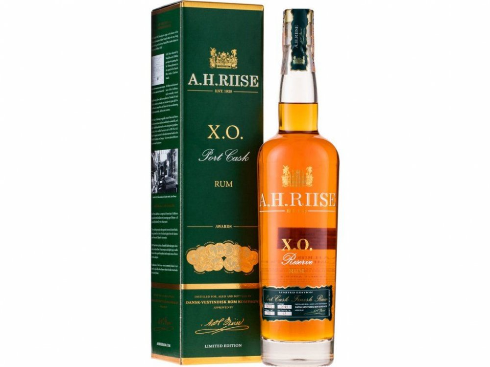Rum A.H.Riise XO Port Cask 20y 0,7l 45%