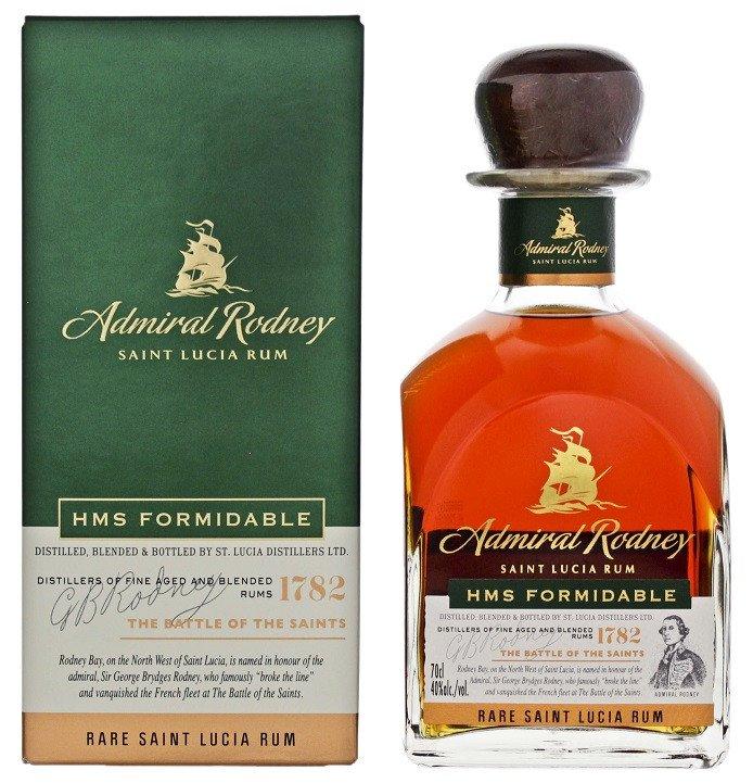 Rum Admiral Rodney Formidable 0,7l 40%