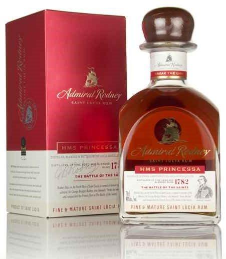 Rum Admiral Rodney HMS Princessa 0,7l 40%