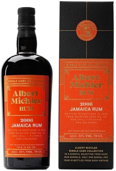 Rum Albert Michler Single Cask Jamaica 14y 2006 0,7l 51% GB / Rok lahvování 2020