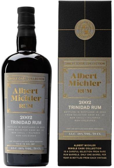 Rum Albert Michler Single Cask Trinidad 18y 0,7l 48% GB / Rok lahvování 2020