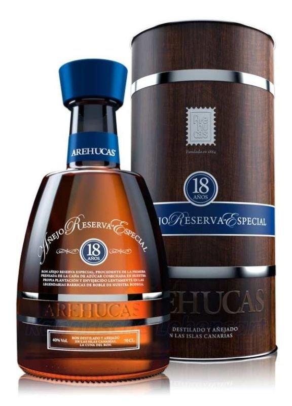 Rum Arehucas 18y 0,7l 40% Tuba