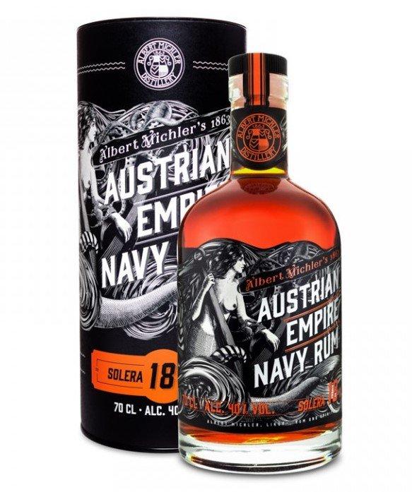Rum Austrian Empire Navy Rum 18y 0,7l 40% Tuba