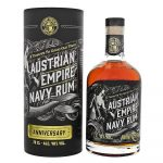 Rum Austrian Empire Navy Rum Anniversary 0,7l 40% Tuba