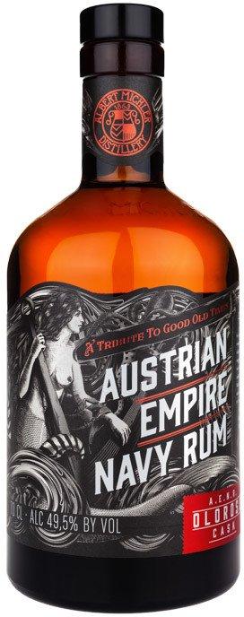 Rum Austrian Empire Navy Rum Oloroso Cask 0,7l 49,5%