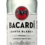 Rum Bacardi Carta Blanca 0,7l 37,5%
