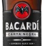 Rum Bacardi Carta Negra 4y 1l 40%