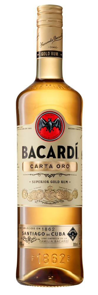 Rum Bacardi Carta Oro 0,7l 37,5%
