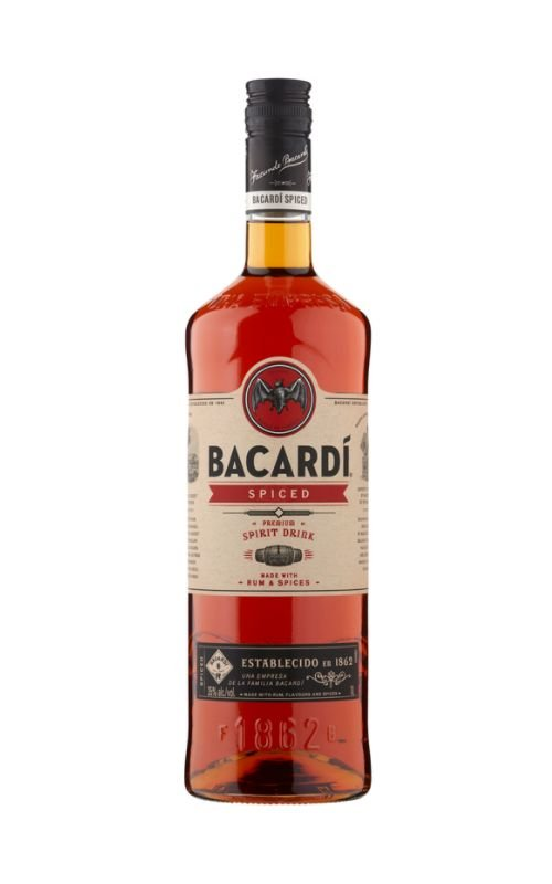 Rum Bacardi Spiced 1l 35%