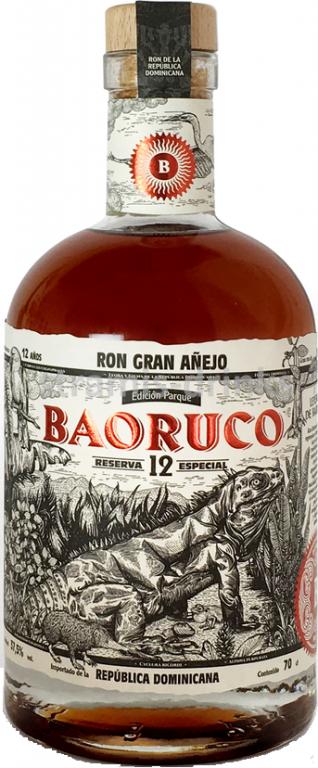 Rum Baoruco Parque 12y 0,7l 37,5%