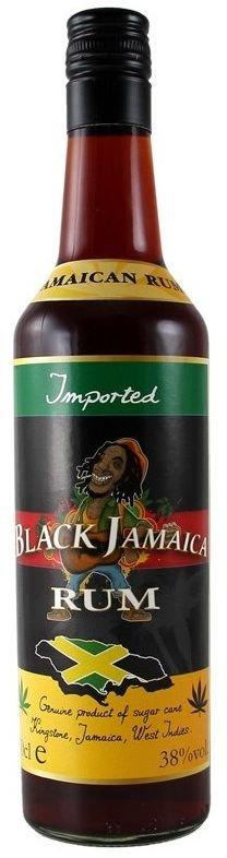 Rum Black Jamaica Rum 0,7l 38%