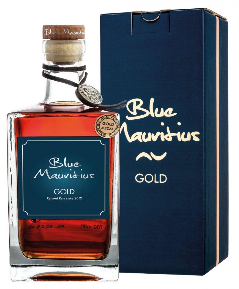 Rum Blue Mauritius Gold 15y 0,7l 40% GB