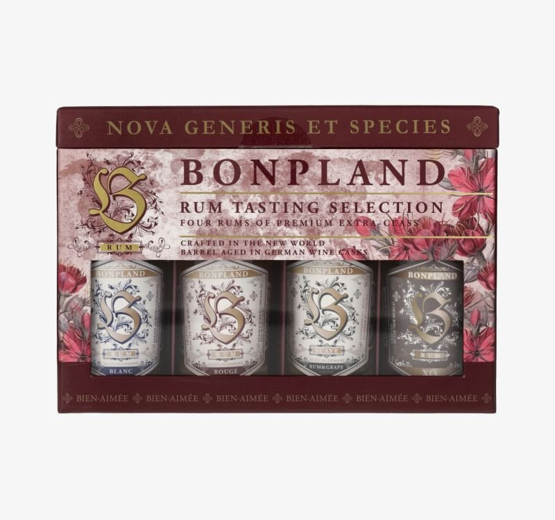 Rum Bonpland Tasting Set 4×0,05l GB