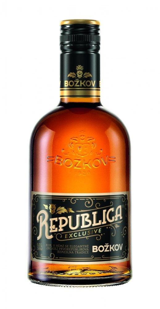 Rum Božkov Republica Exclusive 8y 0,5l 38%