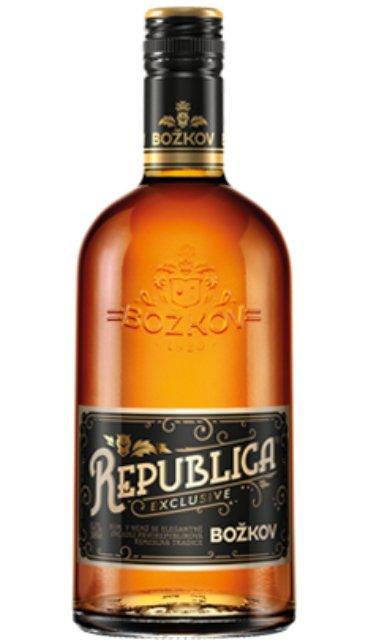 Rum Božkov Republica Exclusive 8y 0,7l 38%