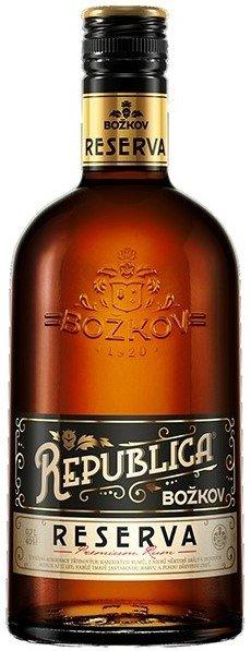 Rum Božkov Republica Reserva 12y 0,7l 40%