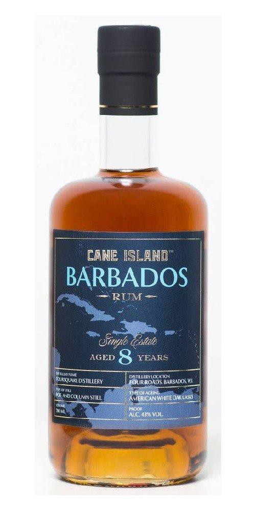 Rum Cane Island Barbados Rum 8y 0,7l 43%