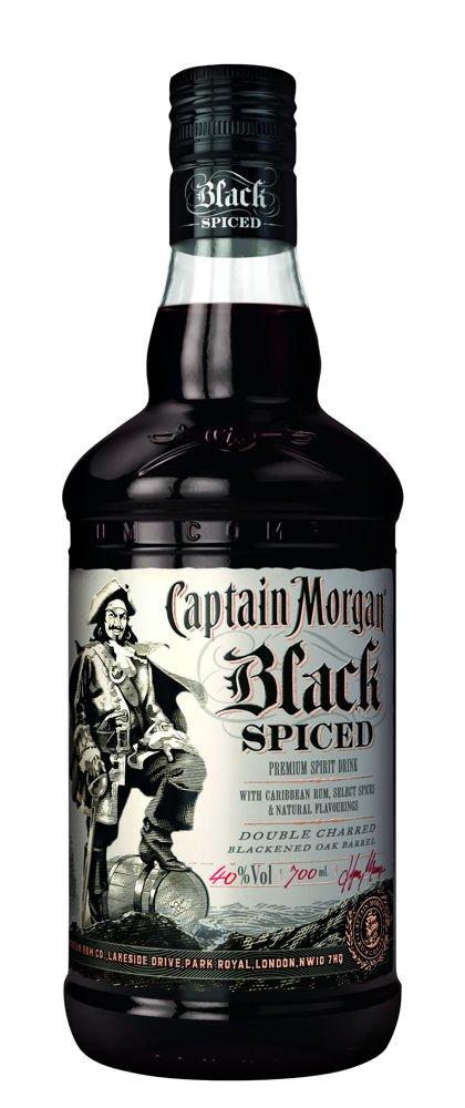 Rum Captain Morgan Black Spiced 0,7l 40%