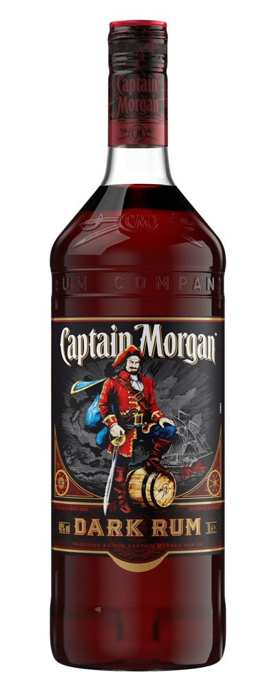 Rum Captain Morgan Dark 1l 40%