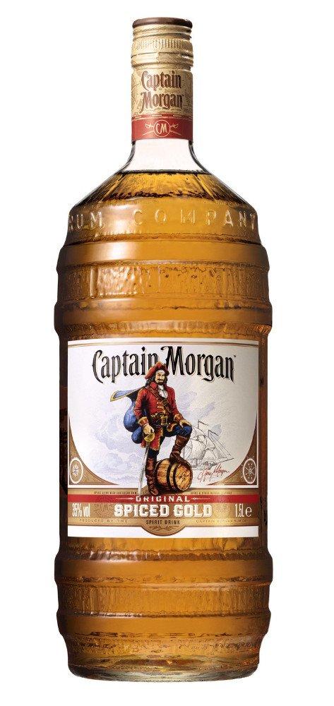Rum Captain Morgan Gold 1,5l 35% Barrel