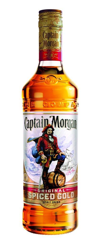 Rum Captain Morgan Original Spiced Gold 0,7l 35%