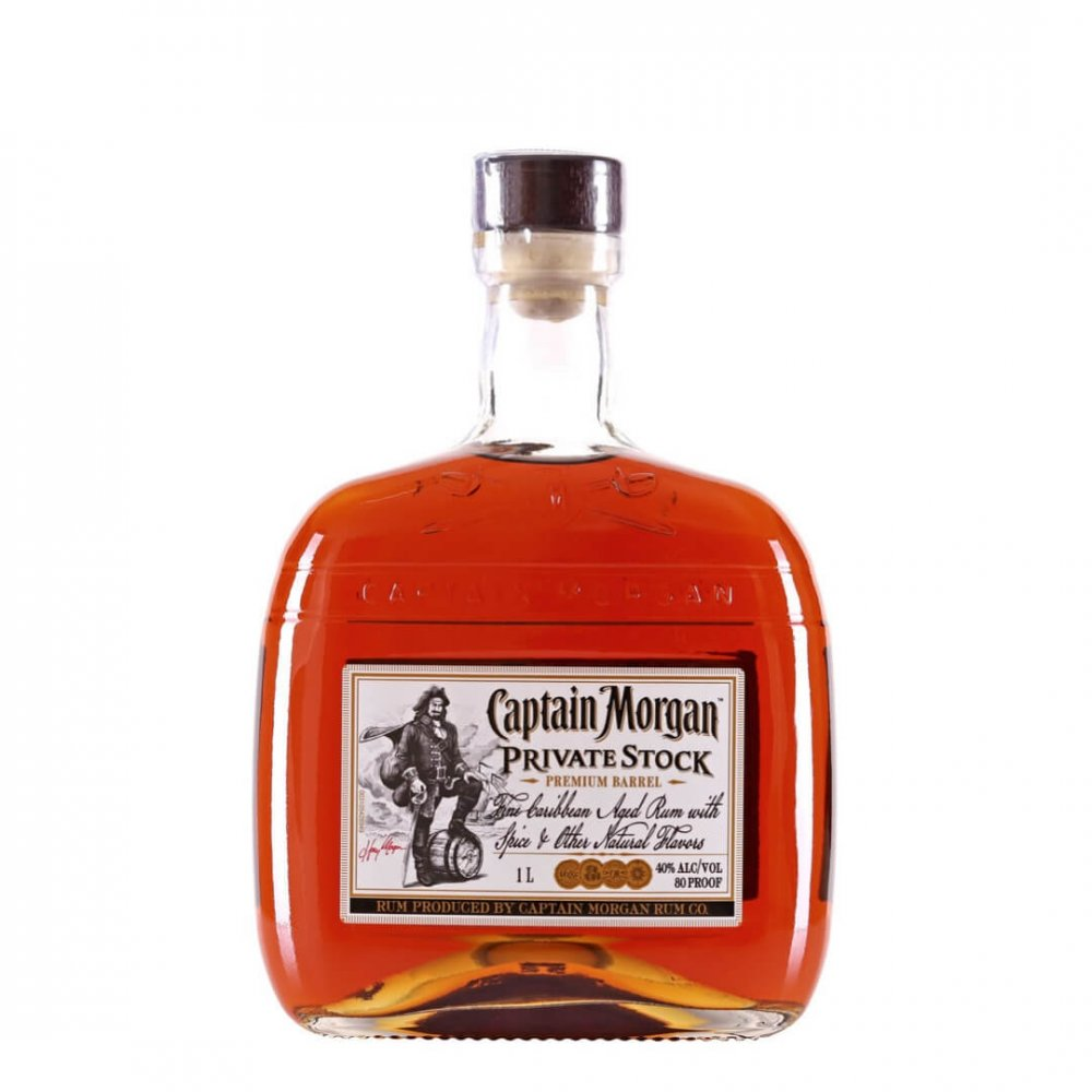 Rum Captain Morgan Private Stock 1l 40%