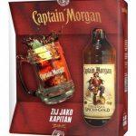 Rum Captain Morgan Spiced Gold + korbel 0,7l 35% GB
