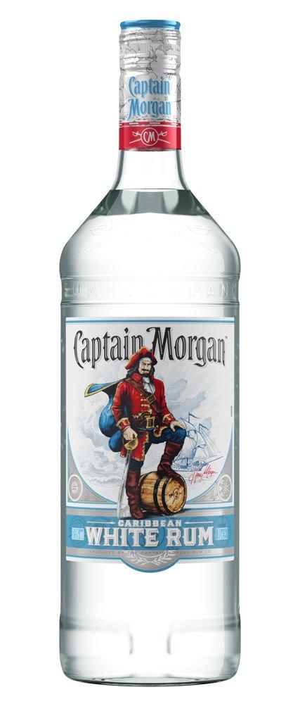 Rum Captain Morgan White 1l 37,5%