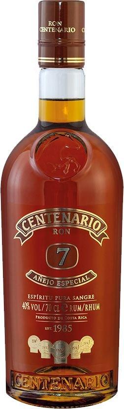 Rum Centenario Añejo Especial 7y 0,7l 40%
