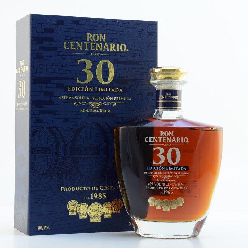 Rum Centenario Edición Limitada 30y 0,7l 40%