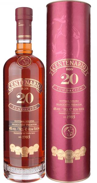 Rum Centenário Fundacion 20y 0,7l 40%