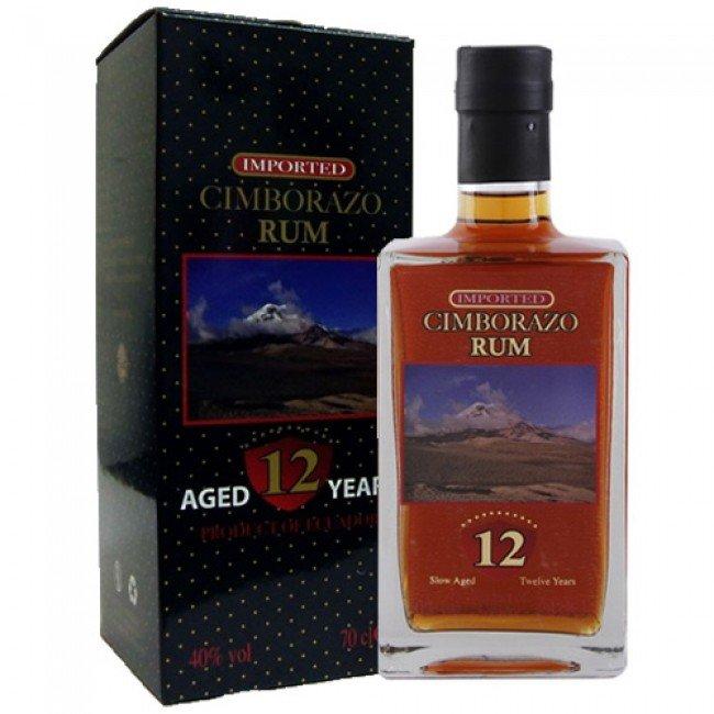 Rum Cimborazo Rum 12y 0,7l 40% GB