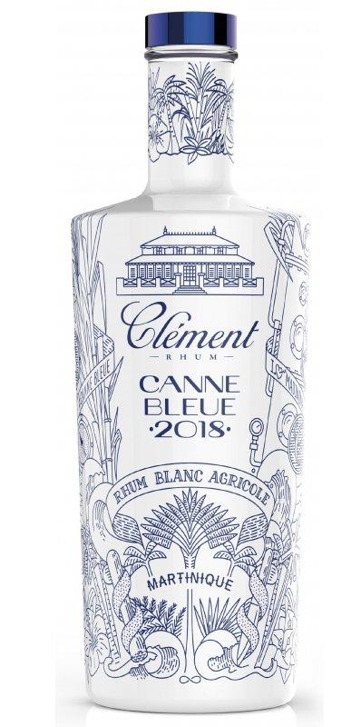 Rum Clement Blanc Canne Bleue 2018 0,7l 50%