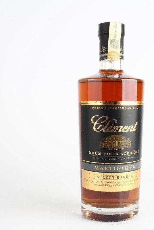 Rum Clement Select Barrel 3y 0,7l 40%
