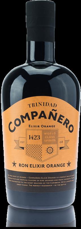 Rum Companero Elixir Orange 0,7l 40%