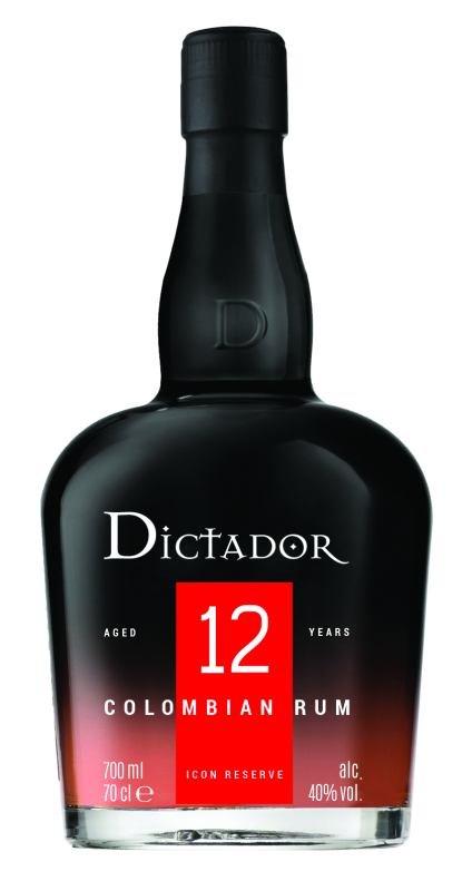 Rum Dictador 12y 0,7l 40%