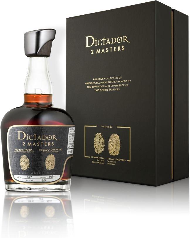 Rum Dictador 2 Masters Despagne 37y 1980 0,7l 45% L.E. / Rok lahvování 2017