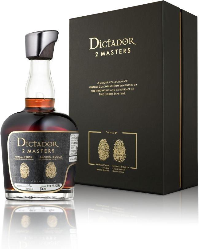 Rum Dictador 2 Masters Hardy Blend 1976 & 1978 0,7l 41% L.E.