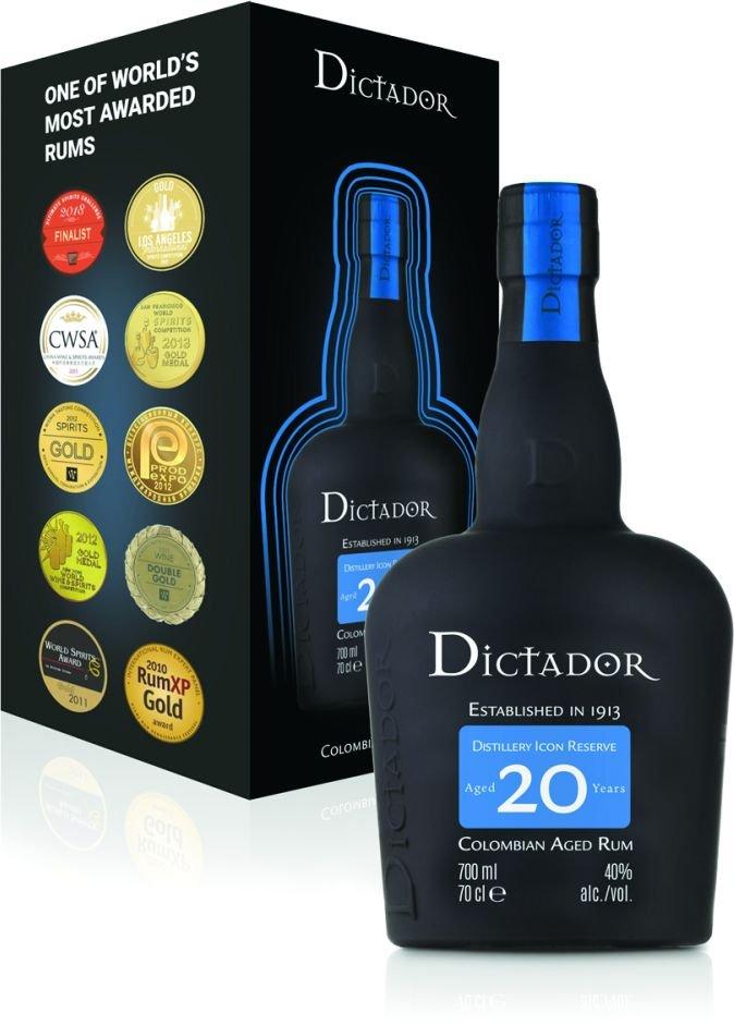 Rum Dictador 20y 0,7l 40%