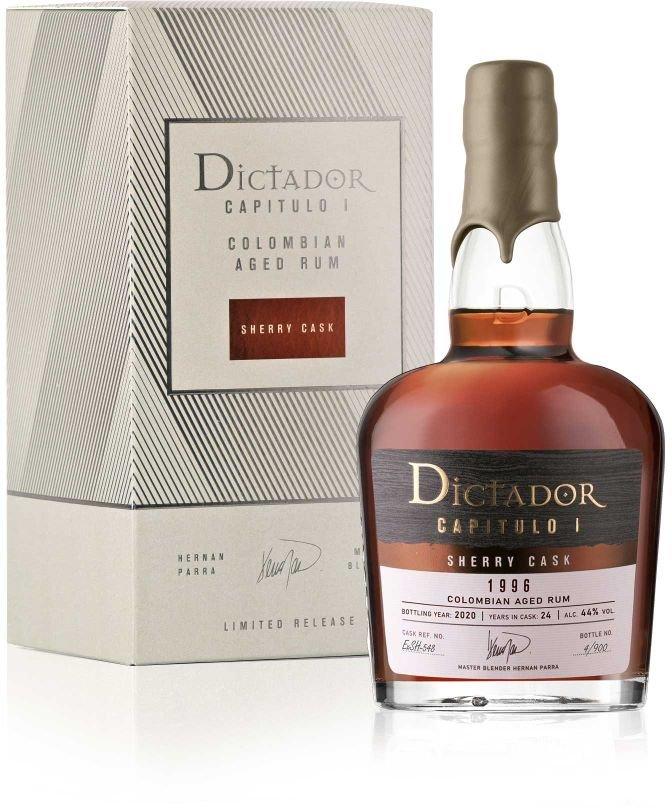 Rum Dictador Capitulo Uno Sherry Cask 24y 1996 0,7l 44% L.E. / Rok lahvování 2020