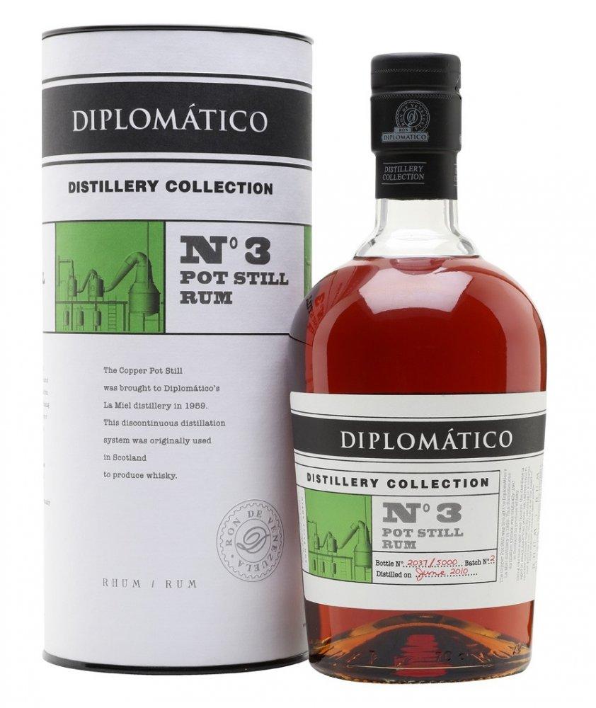 Rum Diplomatico No. 3 Pot Still Rum Distillery Collection 2010 0,7l 47% L.E.