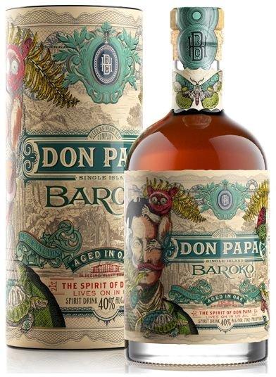Rum Don Papa Baroko 0,7l 40% L.E. Tuba