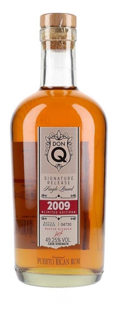 Rum Don Q Signature Release Single Barrel 10y 2009 0,7l 49,25% L.E. / Rok lahvování 2019