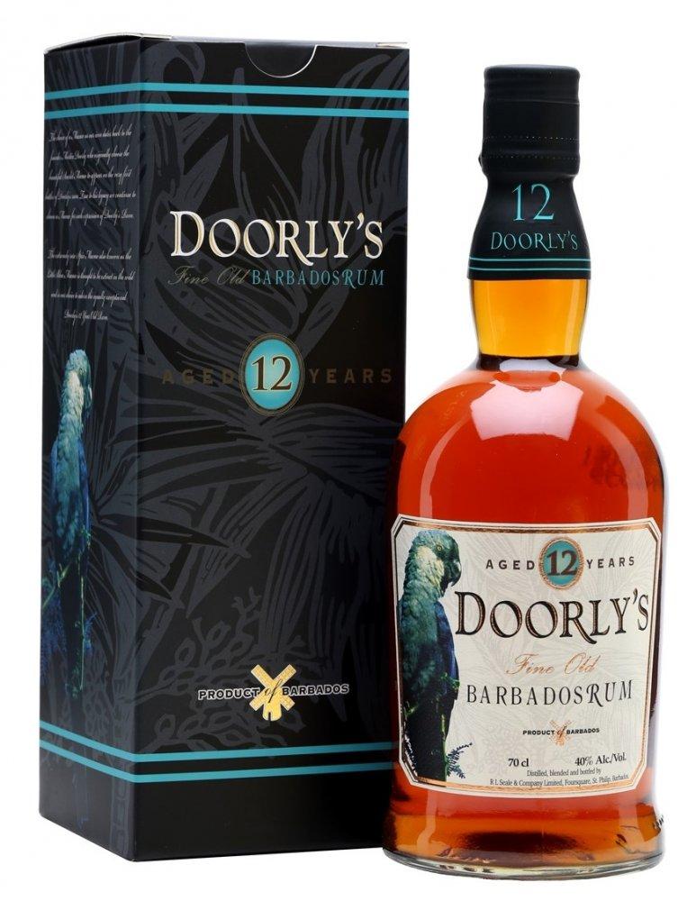 Rum Doorly's 12y 0,7l 43%
