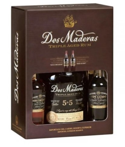 Rum Dos Maderas 5+5 10y 0,7l 40% Sherry set