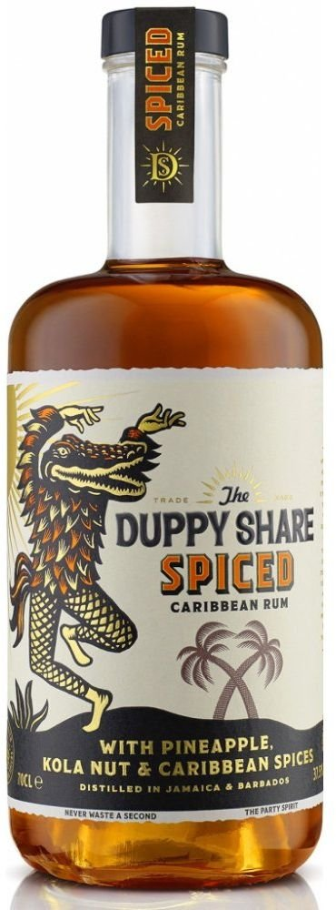 Rum Duppy Share Spiced 0,7l 37,5%