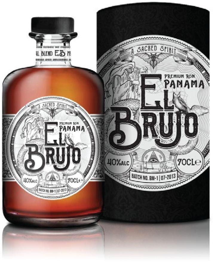 Rum El Brujo Premium Panama Ron 0,7l 40%