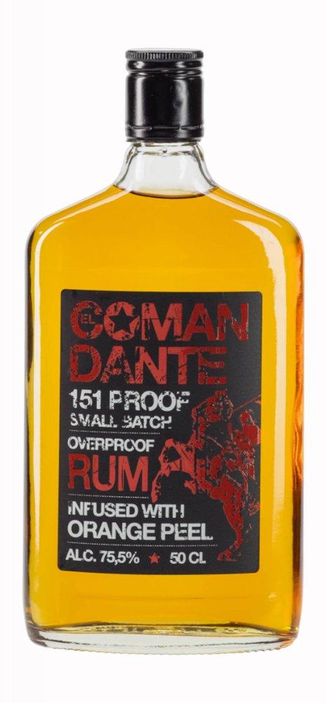 Rum El Comandante Overproof 0,5l 75,5%