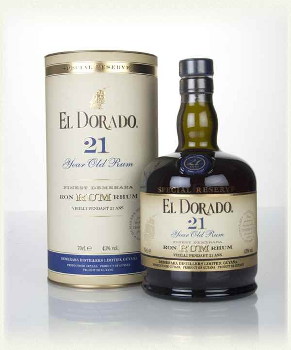 Rum El Dorado 21y 0,7l 43%